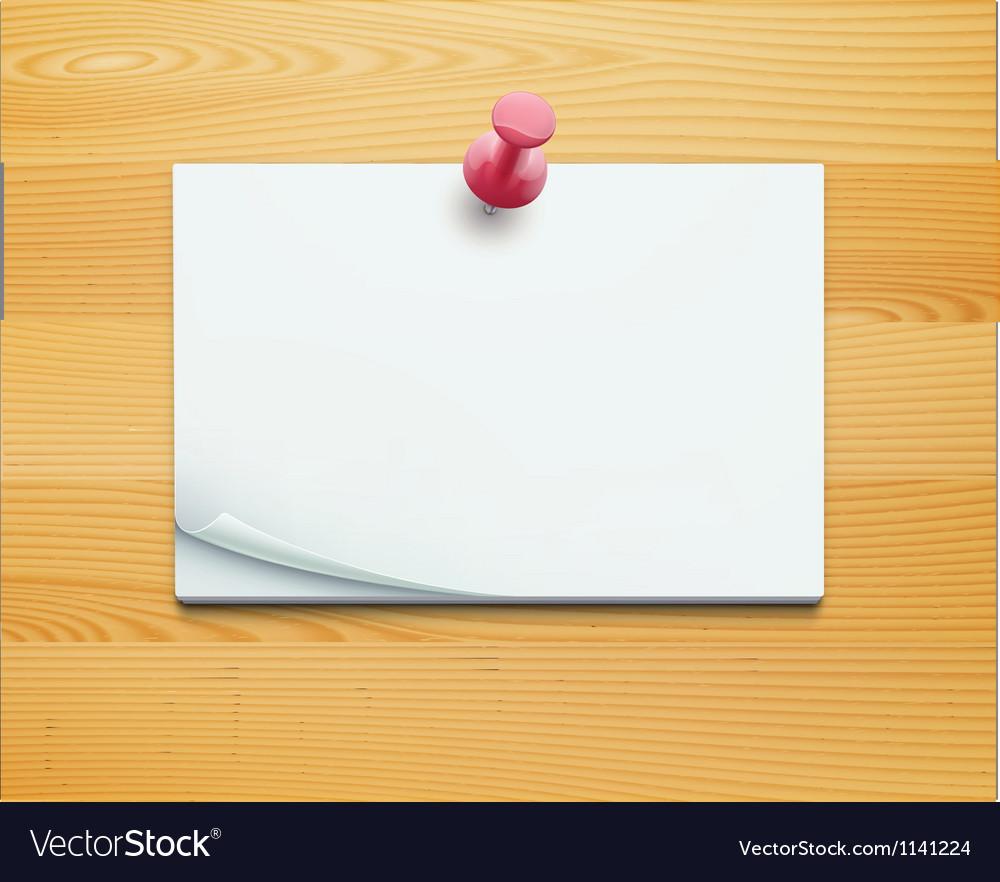 Post note vector