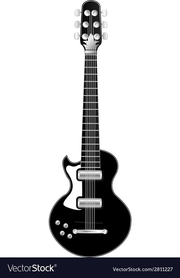 Electric guitar vector