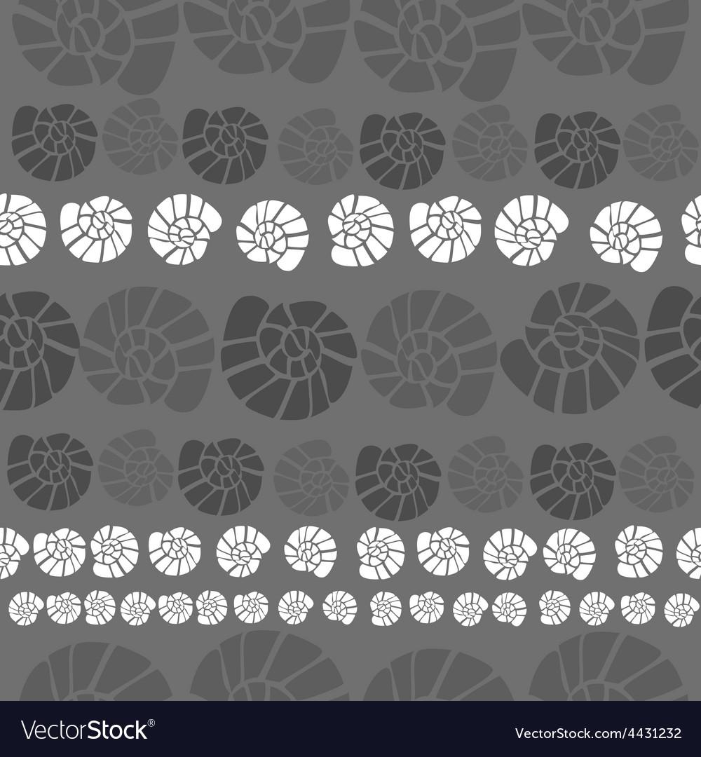 Shell pattern vector