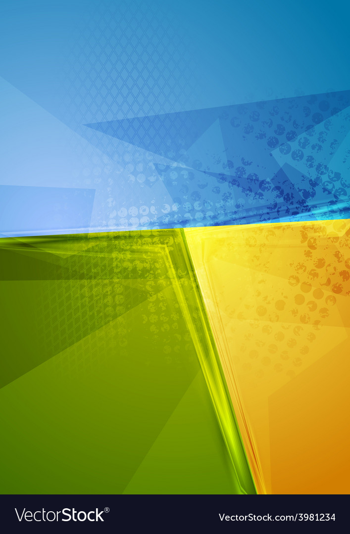 Bright abstract contrast background vector