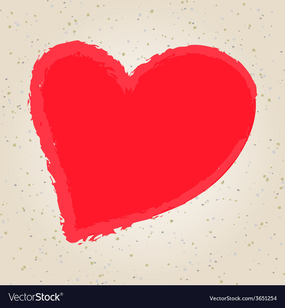 Valentines day hand drawing vector