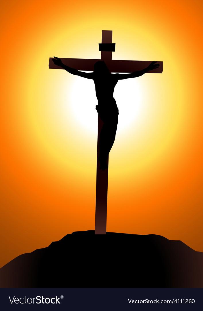 Salvation of jesus christ vector