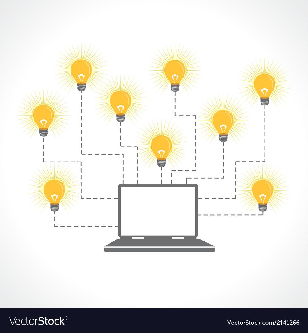 Innovative technology concept vector