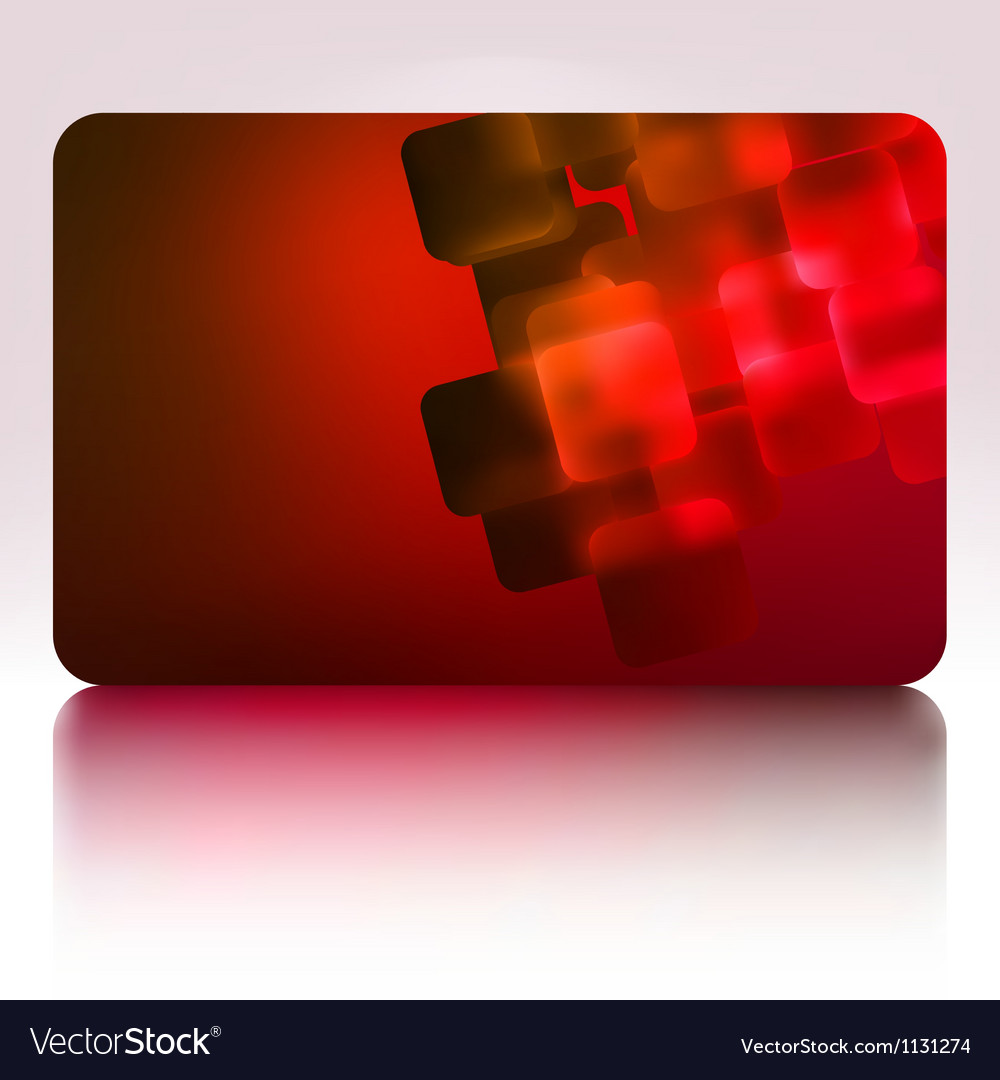 Beautiful gift card eps 8 vector