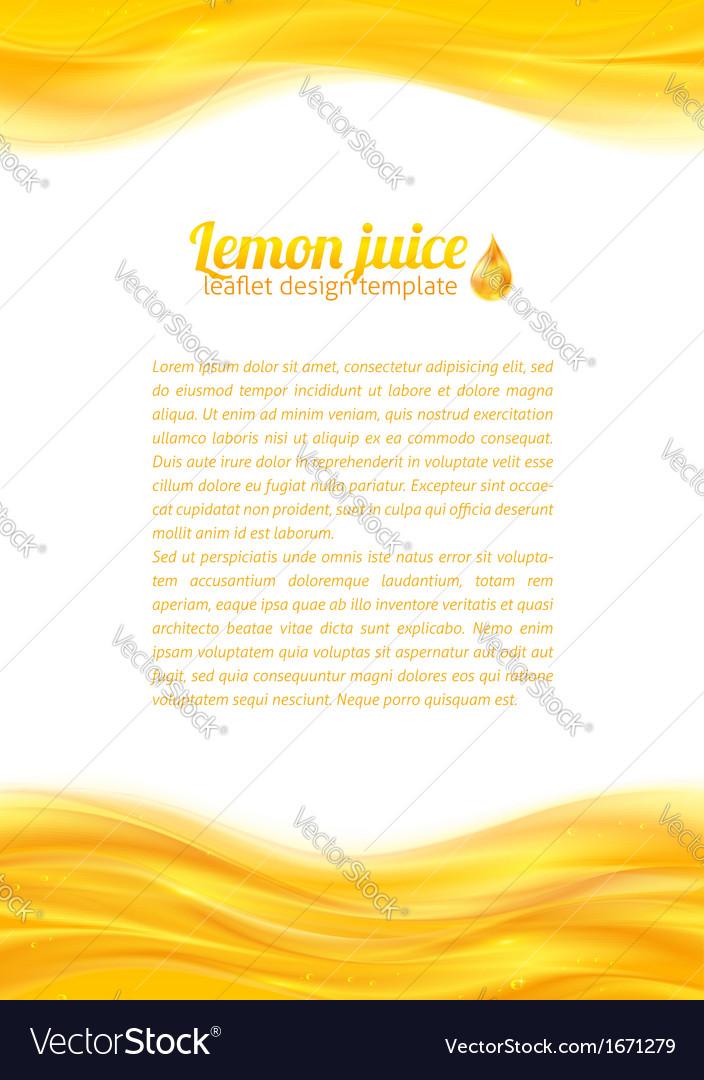 Honey colors juicy background vector