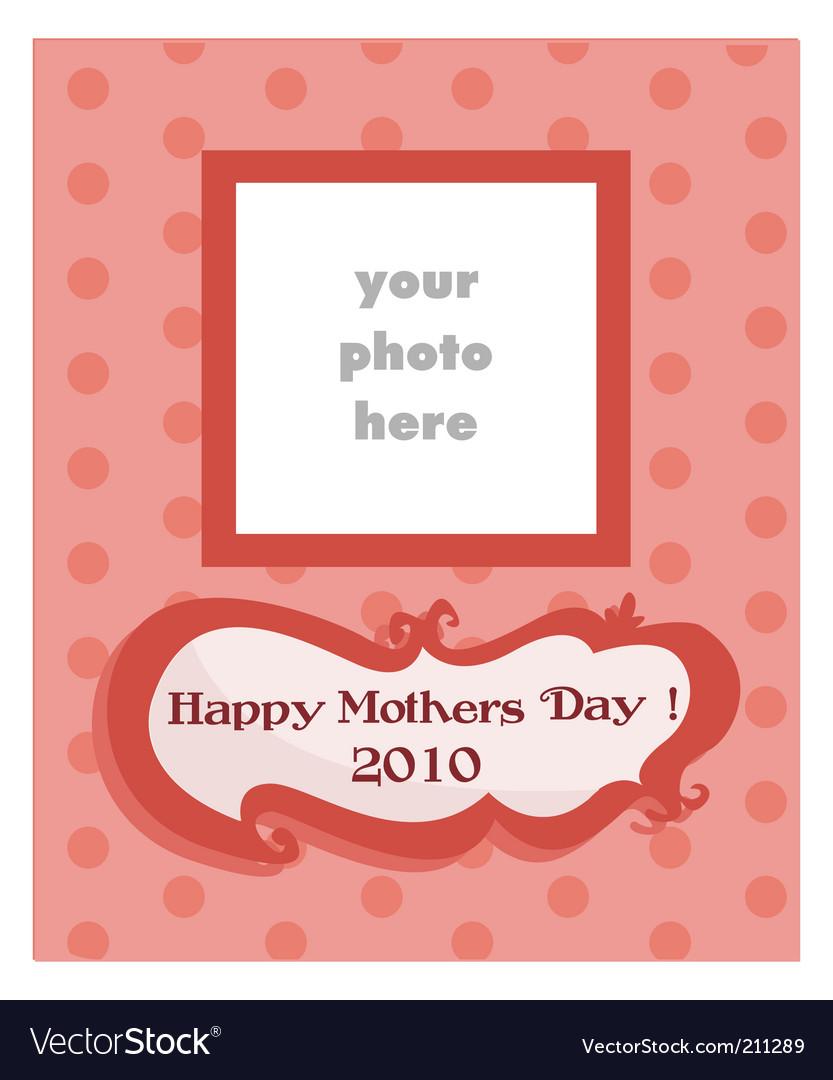 Happy mother's day vector