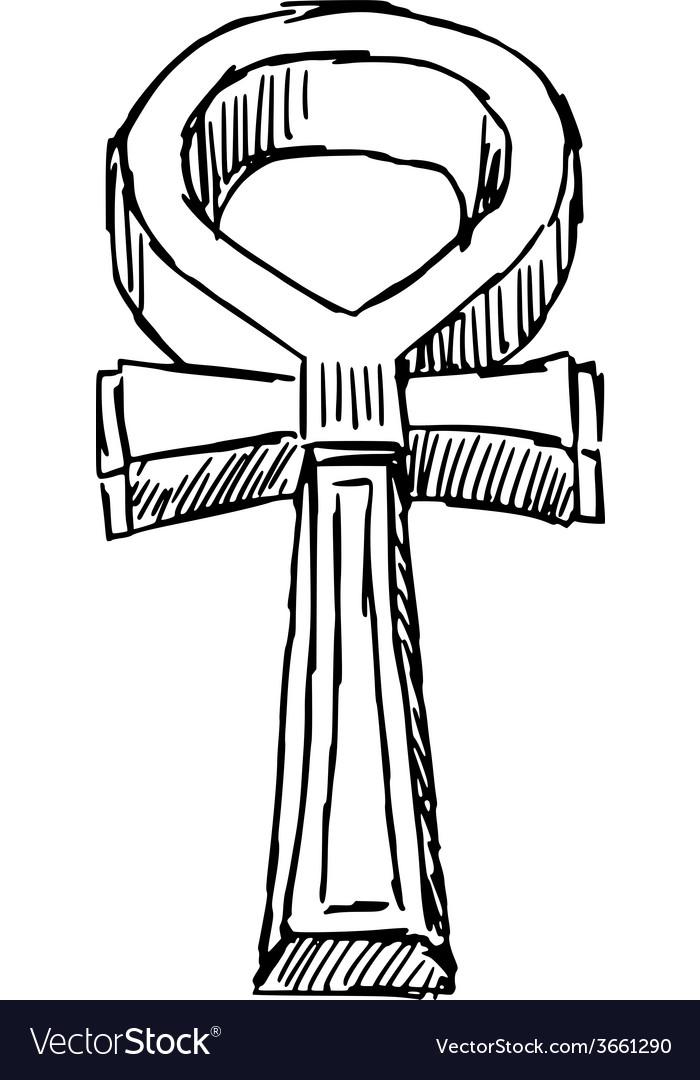 Hieroglyph of ancient egypt vector