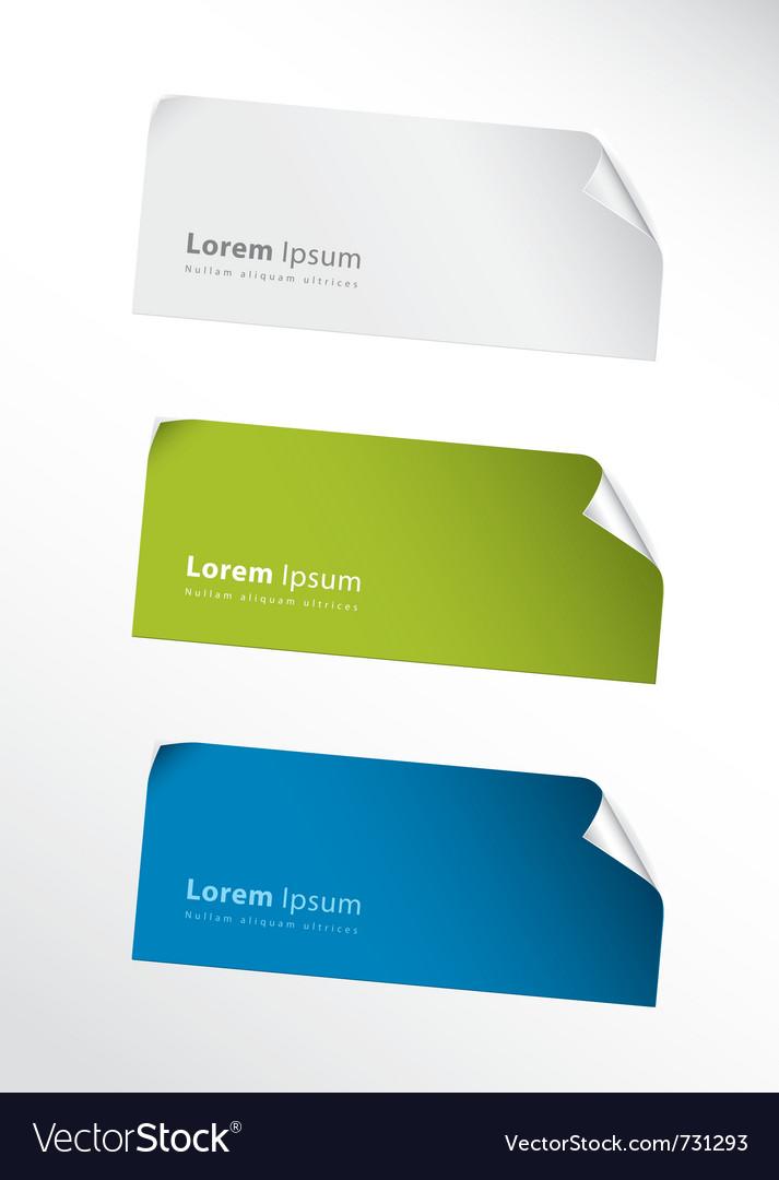 Stickers vector