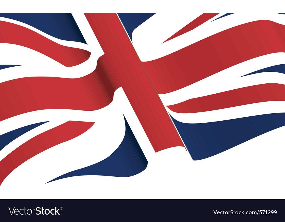A union flag vector