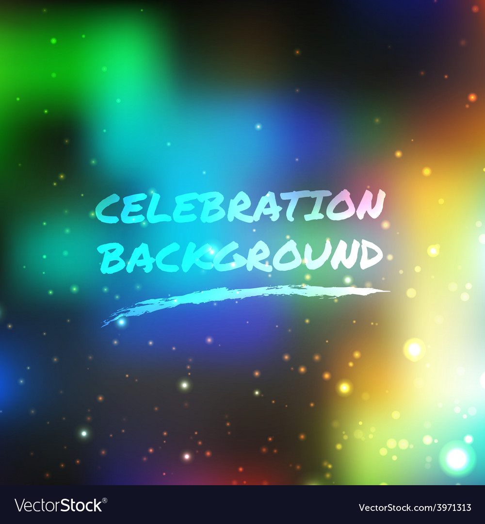 Celebration abstract background vector