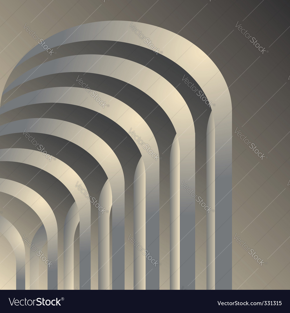 Arches gallery vector