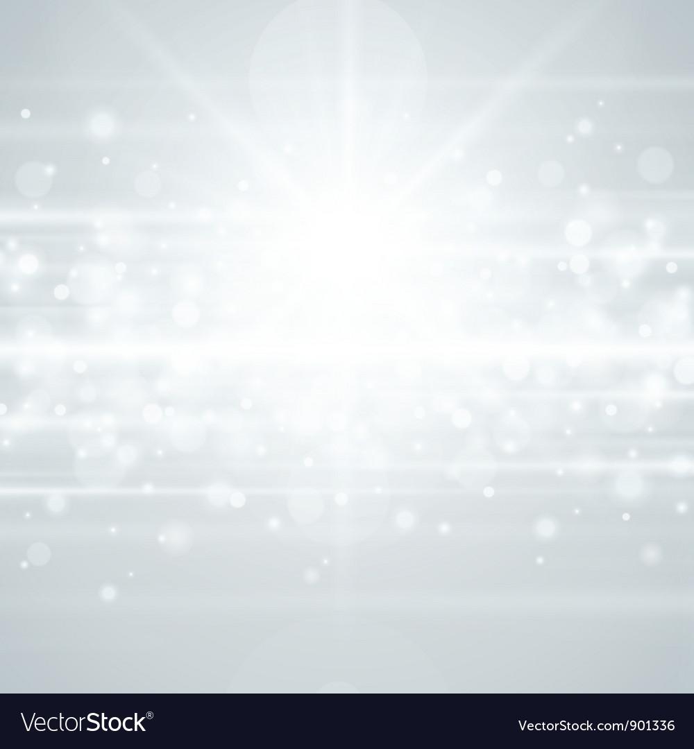 Lens flare light background vector