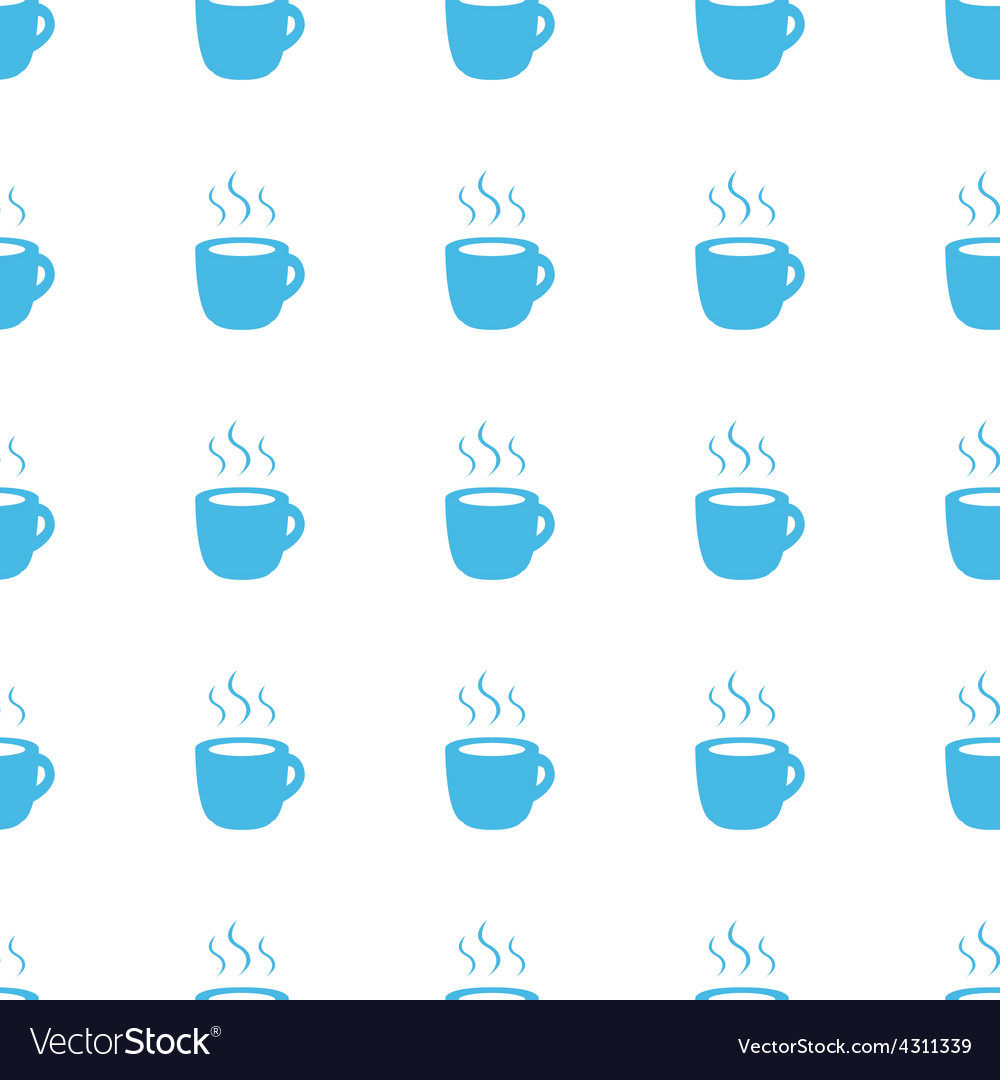 Unique coffee seamless pattern vector