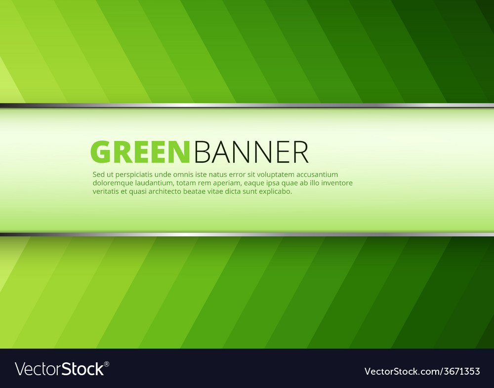 Green arrow technology background vector