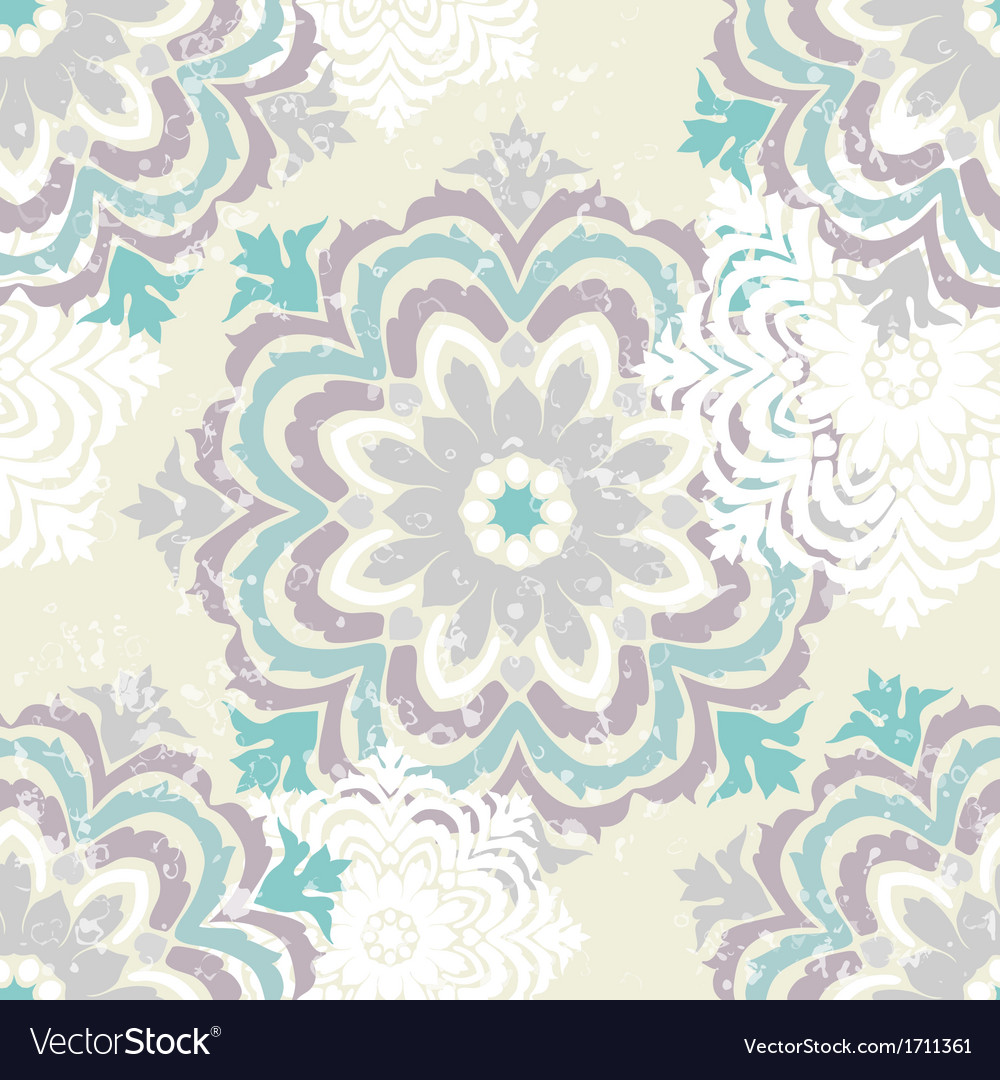 Snowflake winter pattern vector