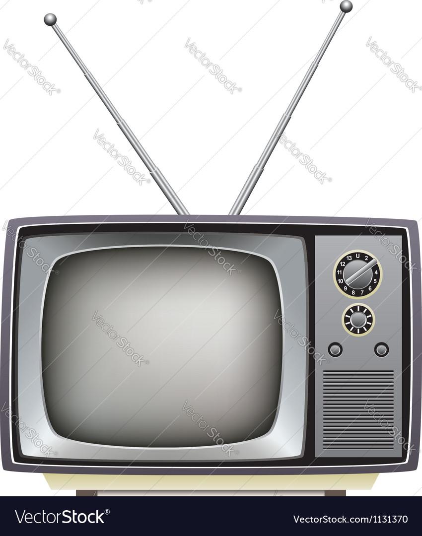 Tv set vector
