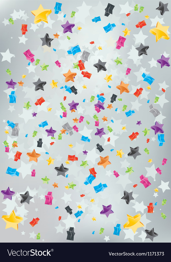 Burst stars background vector
