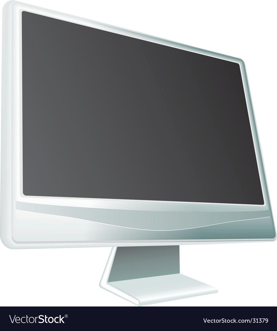 Display on white background illustrat vector