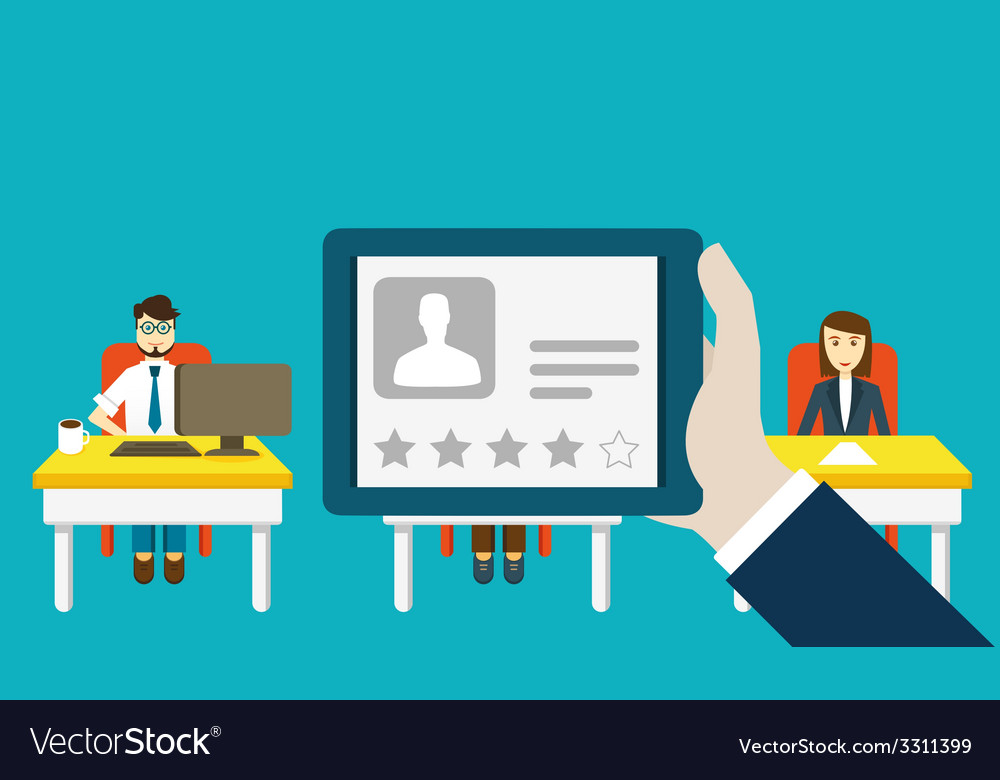 Profile to social media with personal information vector