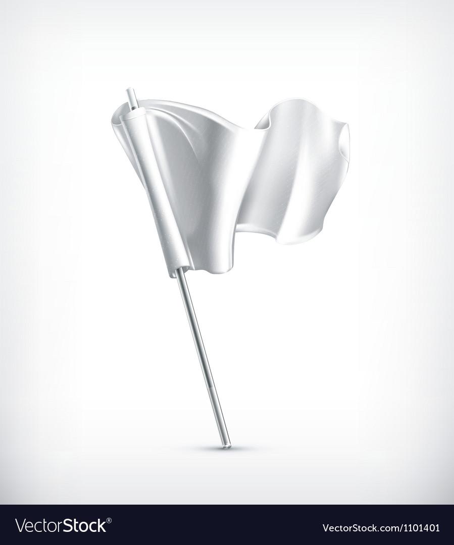 White flag vector