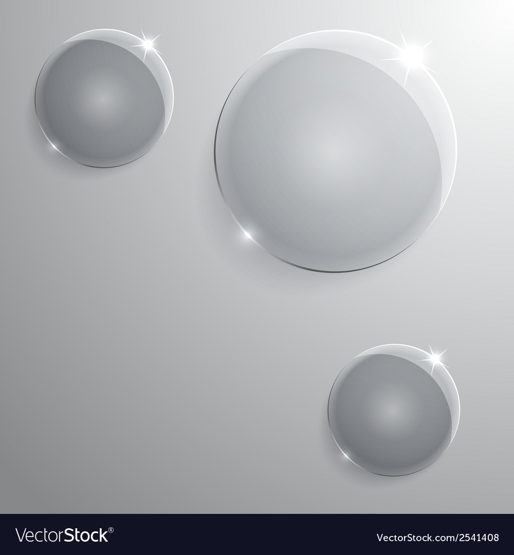 Round glass frame eps10 vector
