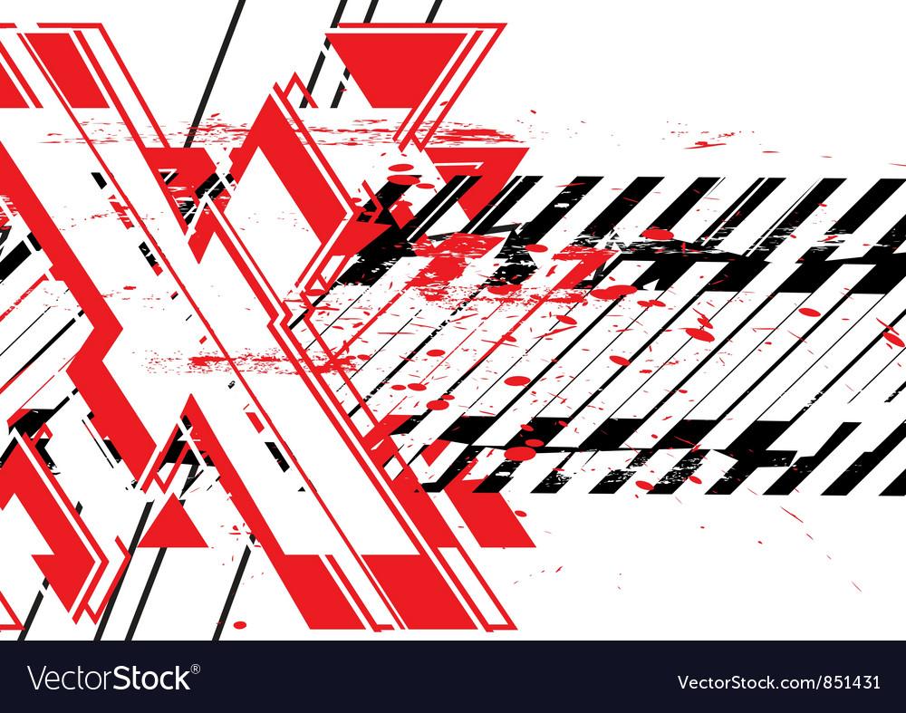 Grunge extreme background vector