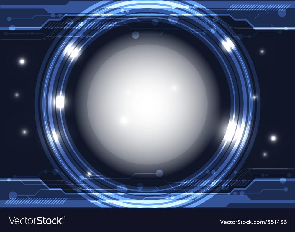 Modern interface technology vector