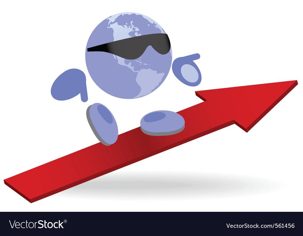 World direction vector