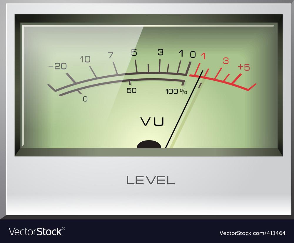 Electronic analog vector