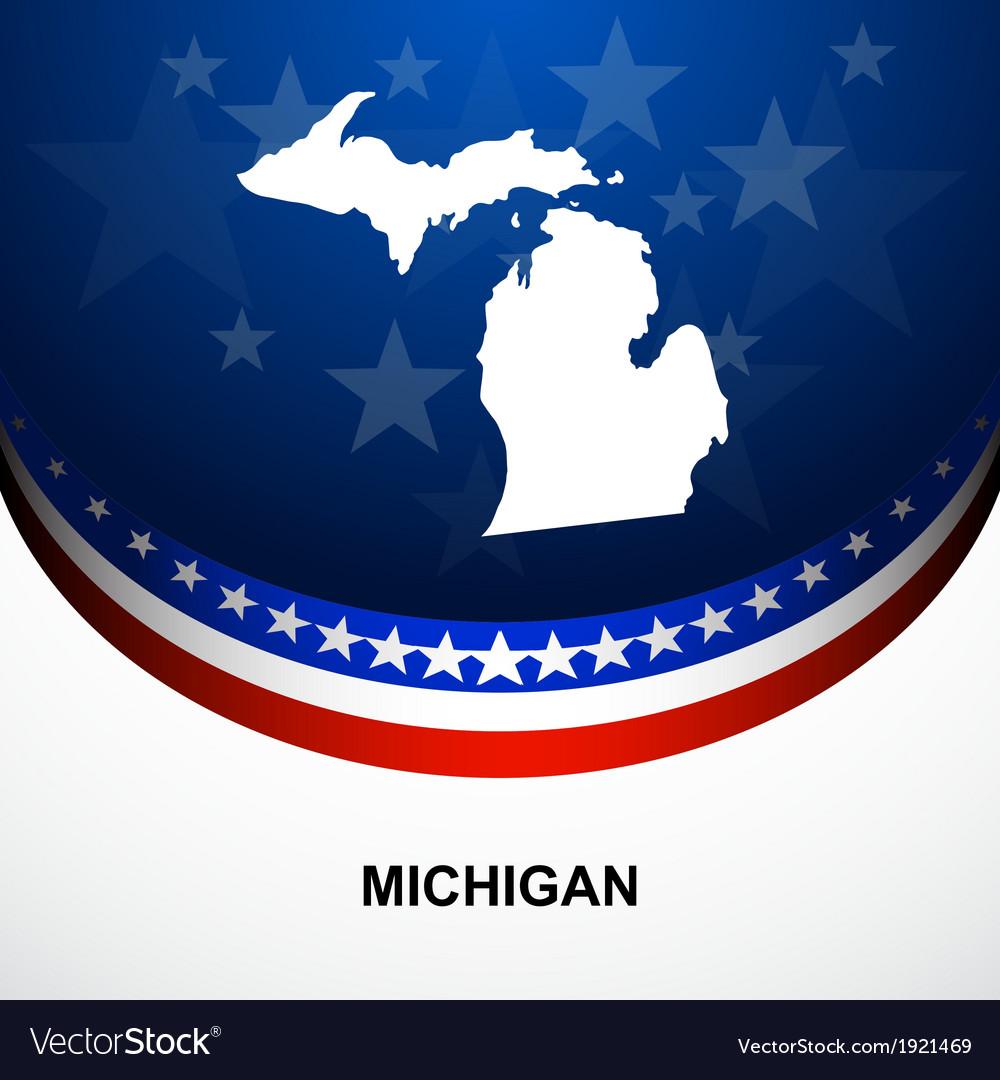 Michigan vector