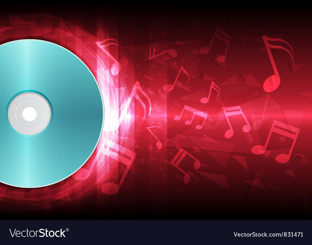Power of sound from disk vector