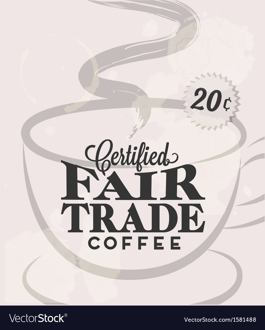 Retro vintage coffee tin sign with grunge effect vector