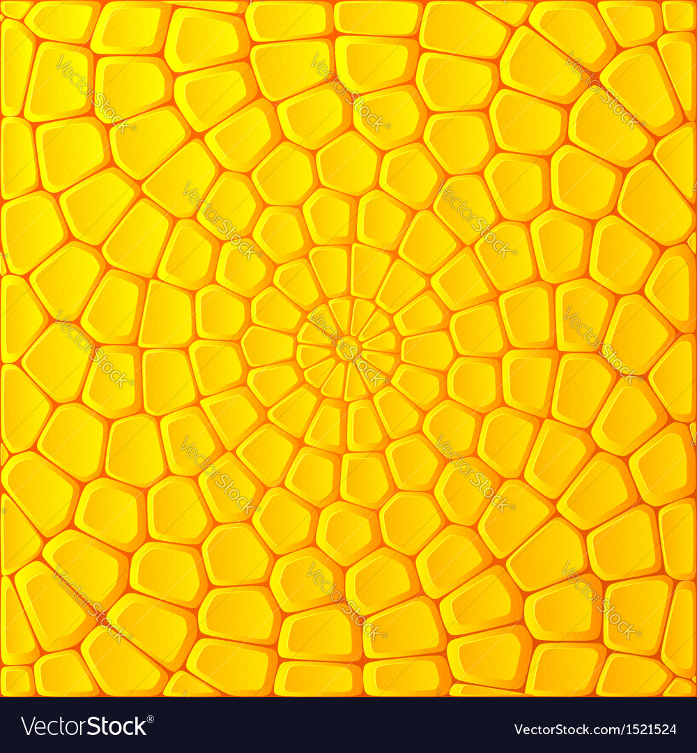 Yellow bricks abstract background vector