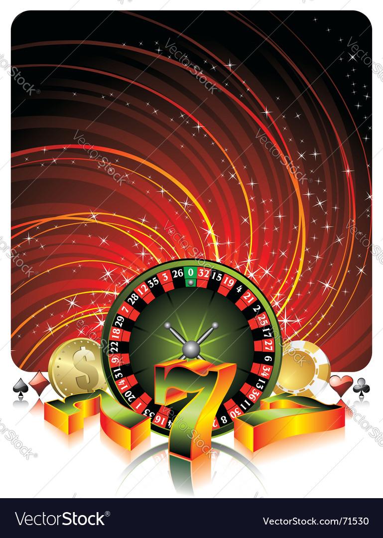 Gambling illustration vector