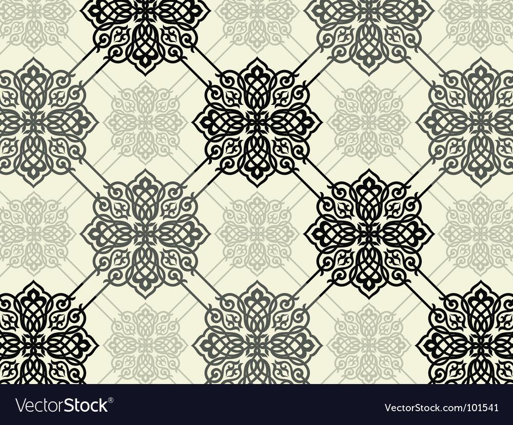 Decorative print vector