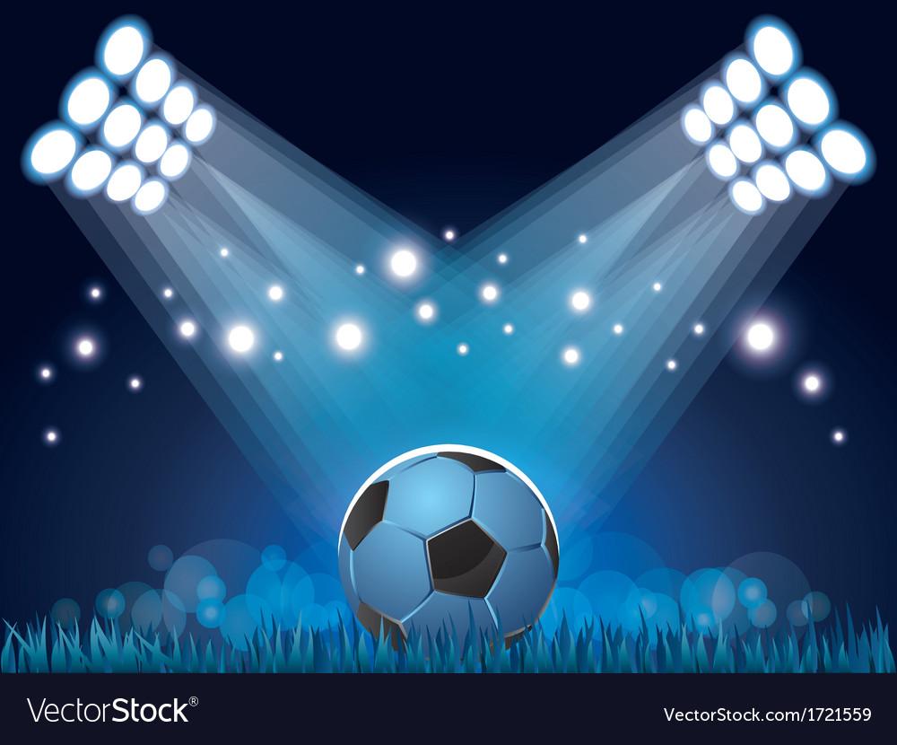 Stadium ball vector