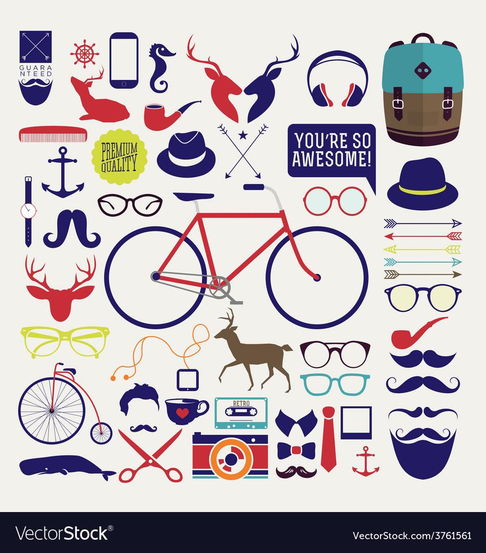 Bike designs vector