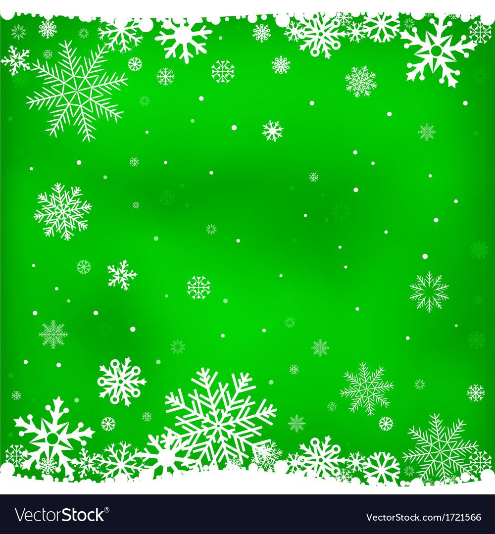 Green snow mesh background vector