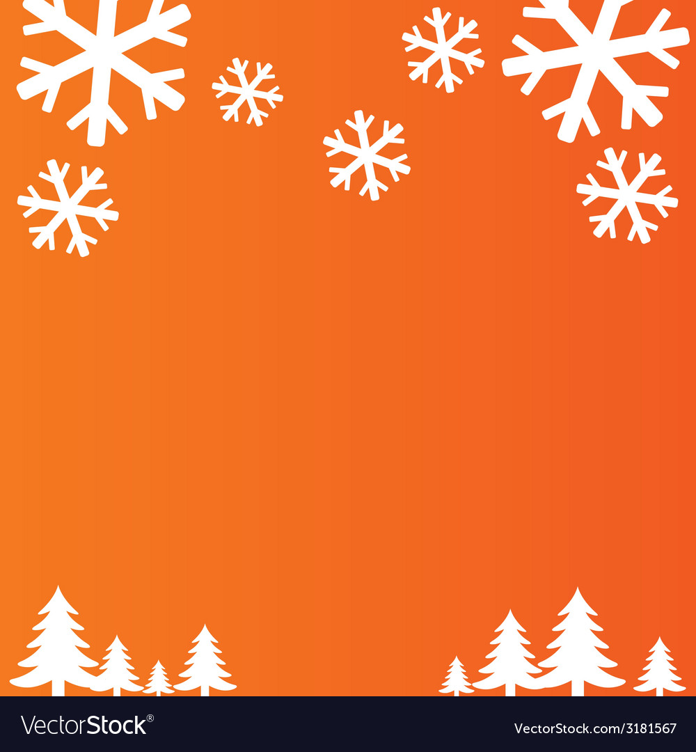 Snowflakes background christmas and new year vector
