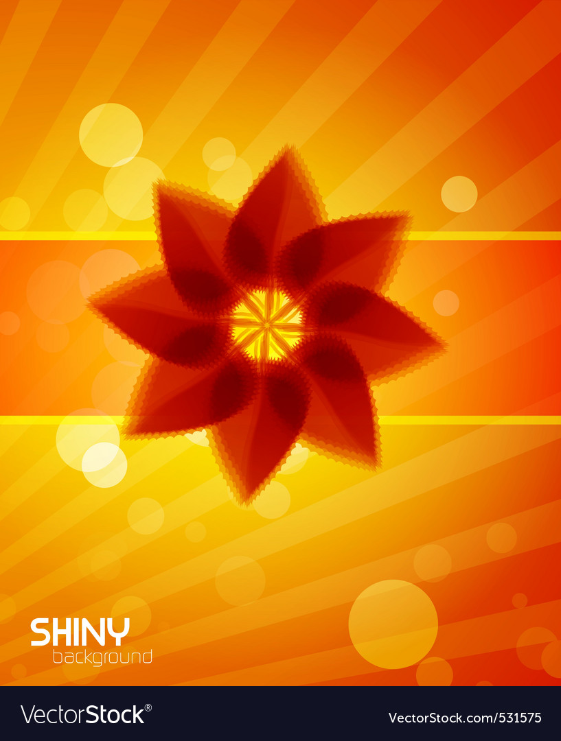 Summer shine vector