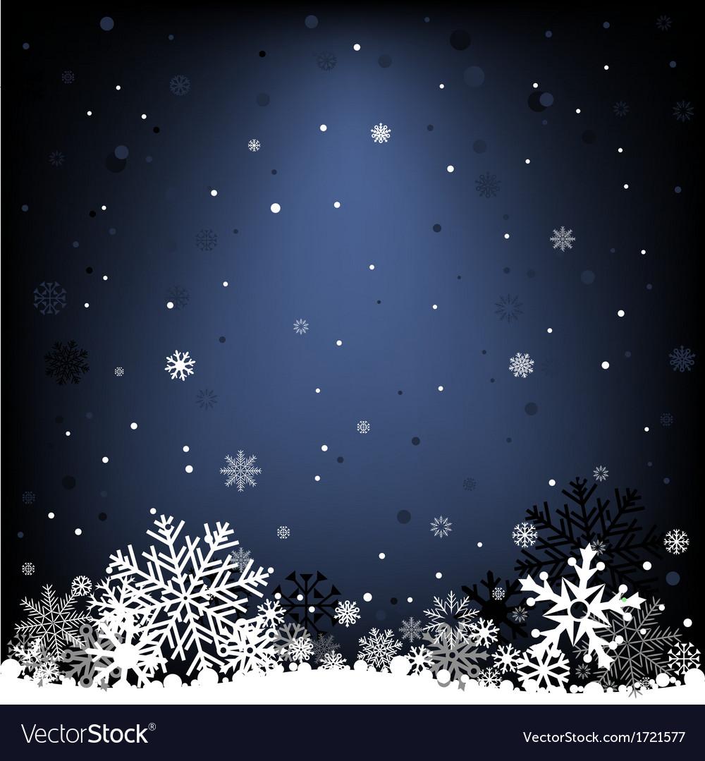 Dark blue snow mesh background vector