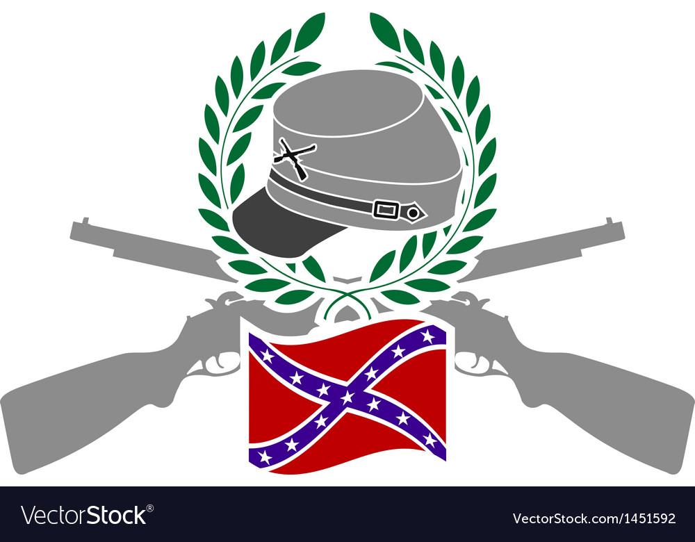 Glory of confederacy vector
