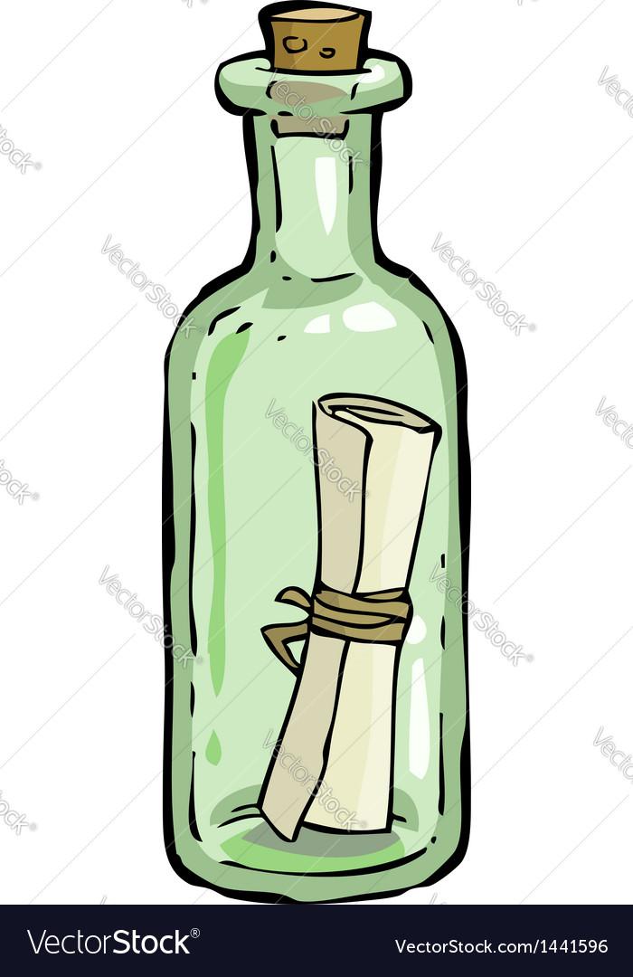 Bottle vector