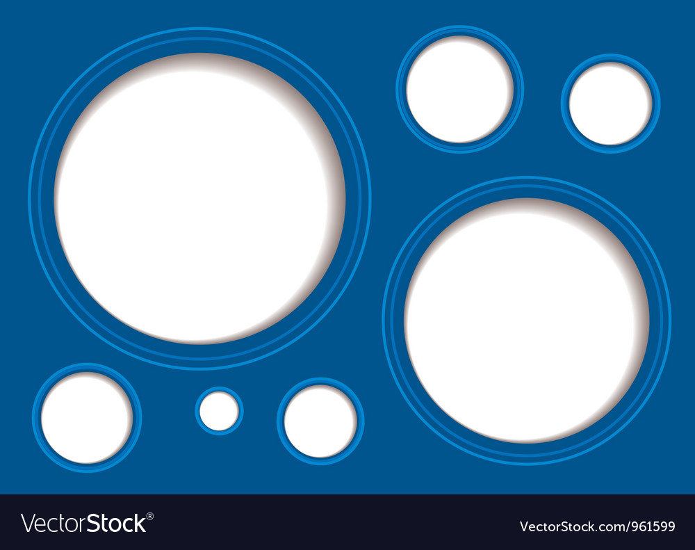 Shadow white hole background vector