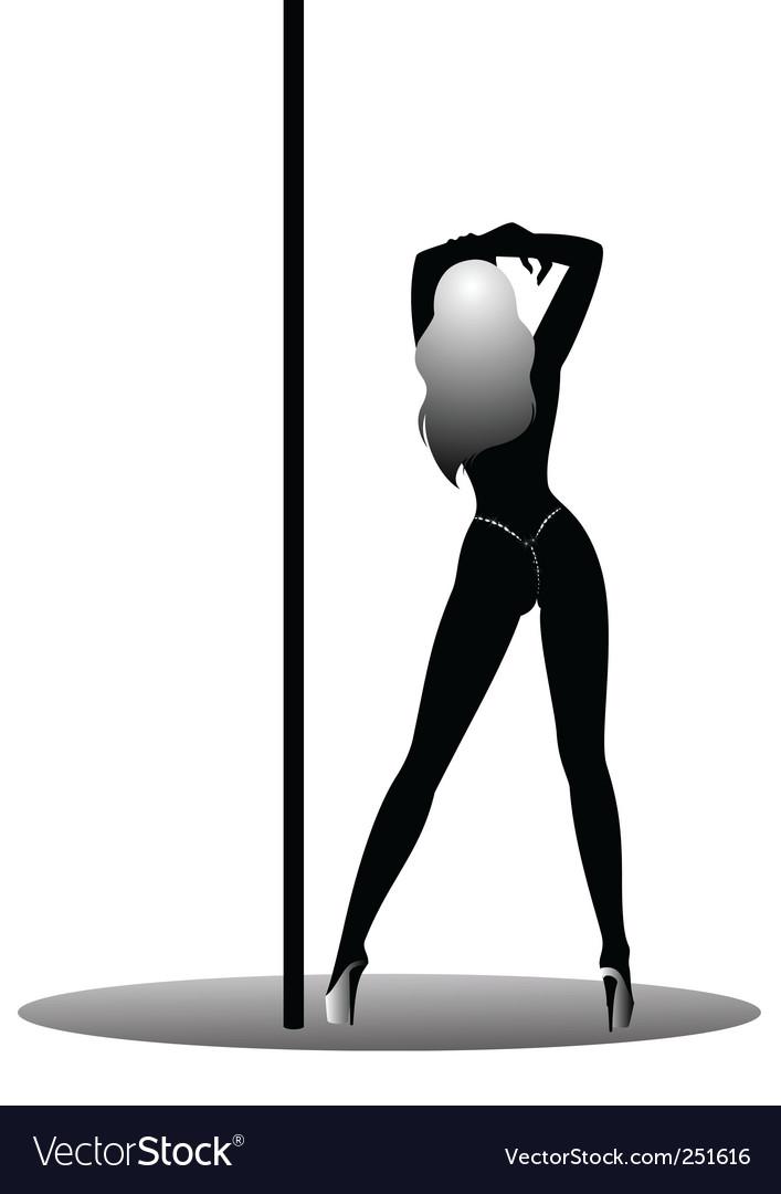 Sexy stripper vector