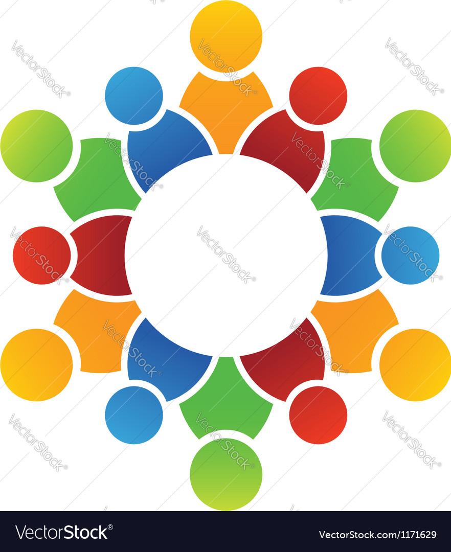 Family circle vector