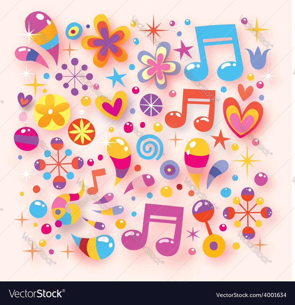 Shiny happy colorful background vector