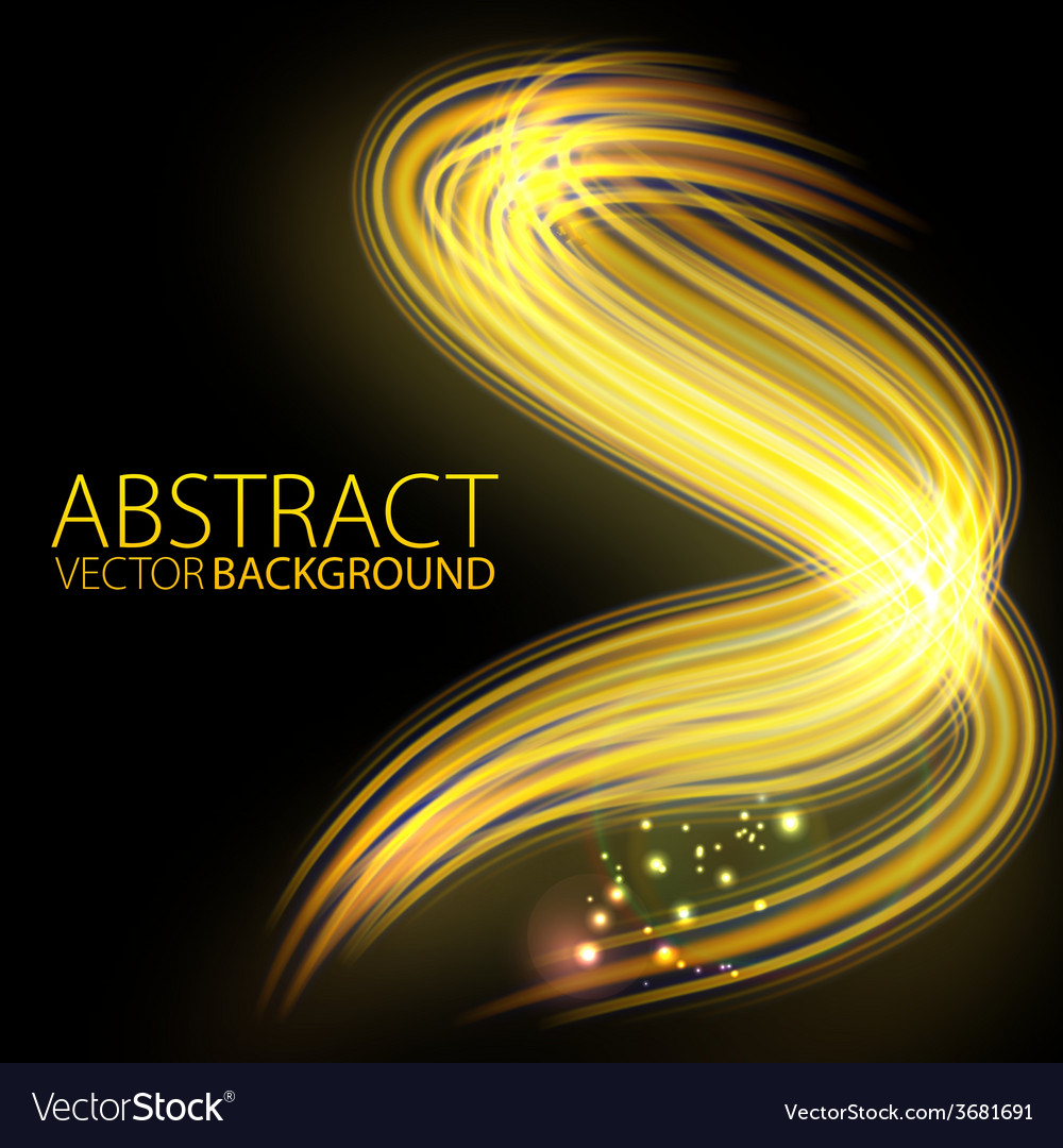 Abstract background-lighting shape vector