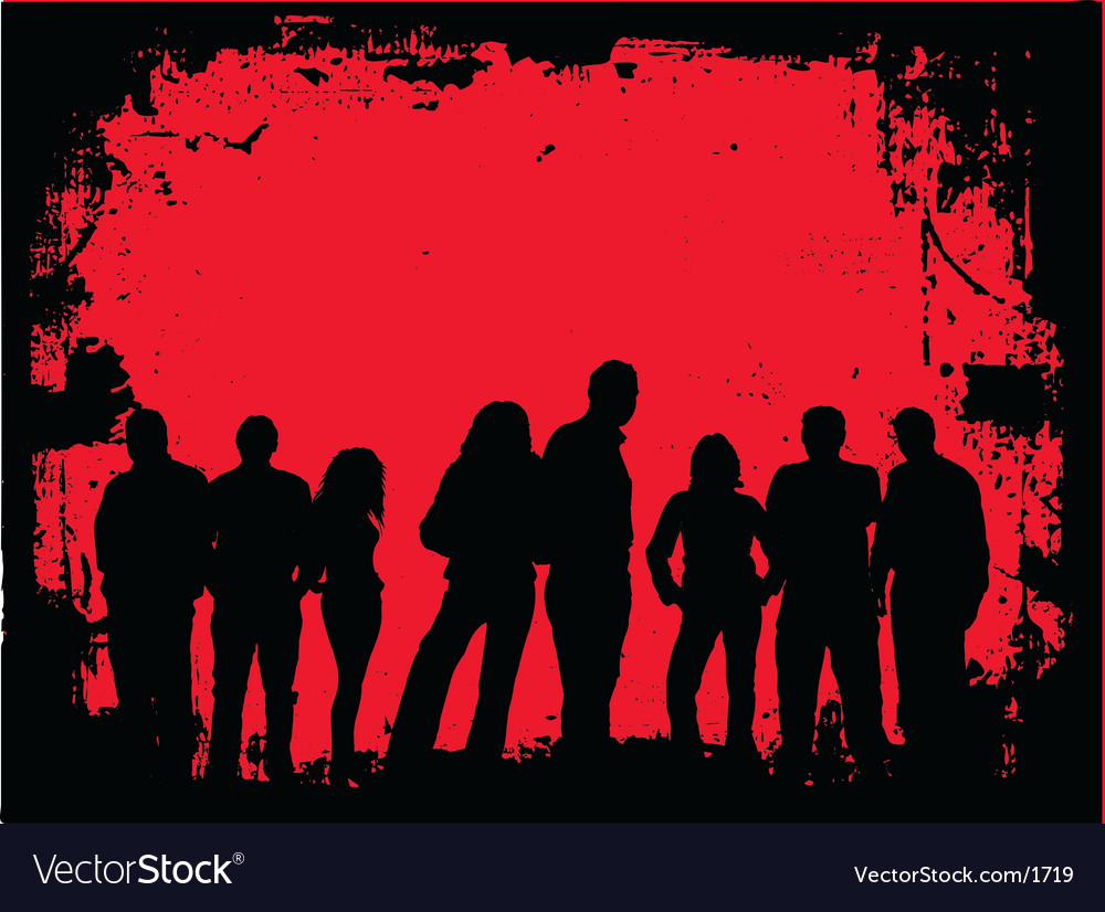 Grunge youth vector