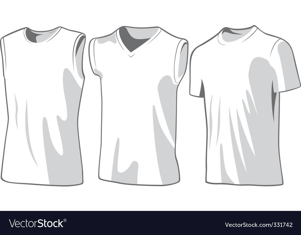 Casual wear vector